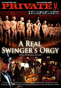 A Real Swinger's Orgy-Private Movie