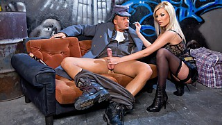 Donna Bell Lets a Guy Fuck Her Ass Hard in a Back Alley