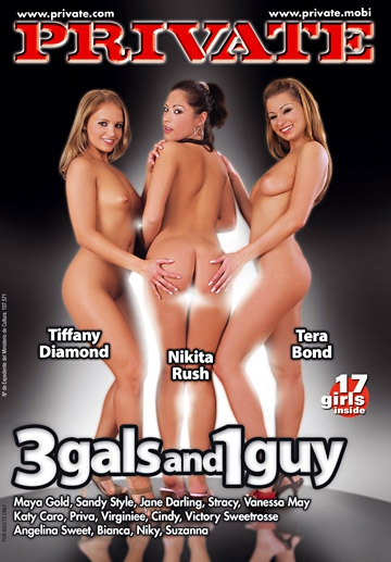 3 Gals And 1 Guy-Private Movie