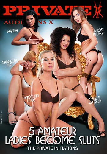 5 Amateur Ladies Become Sluts-Private Movie