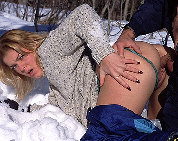 Private  porn video: Sissi Has Wild Anal Sex on the Side of an Icy Mountain