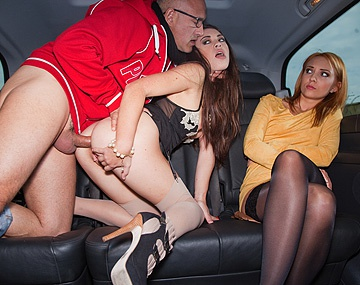 Private HD porn video: Course De Taxi Hardcore Pour Tiffany Et Nataly