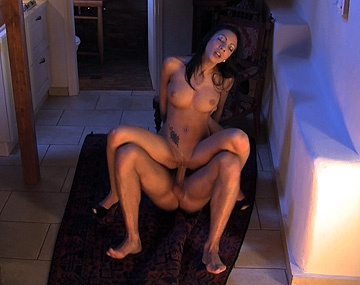 Private HD porn video: Abelia Has a Cumshot Squirted on Her Big Tits after Getting Anal Sex