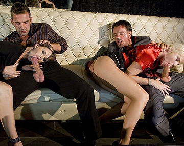 Private  porn video: Tarra en Lullu nemen een paar mannen mee naar huis en worden anaal verwend