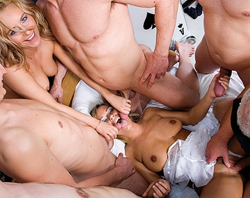 Private  porn video: Ionie Luvcoxx Jessica Love and Nancy Enjoy a Group Orgy with Sex Toys