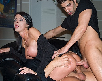 Private  porn video: Hot MILF Michela Sabbatini Enjoys DP While Voyeur Hubby Watches
