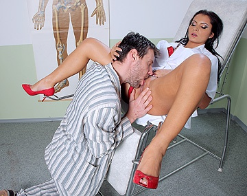 Private HD porn video: Lucy Belle Is the Sexiest Prison Nurse