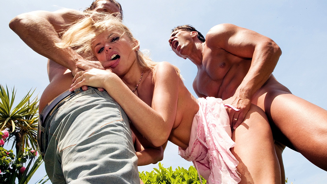 A Lovely Outdoor Party Is Interrupted by an Enormous Gangbang
