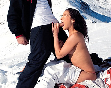 Private HD porn video: An Innocent Ski Trip Turns into a Sexfest for Sunny Jay