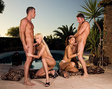 Private  porn video: Bisexual Lovers Alexis and Sabrina Sweet Use Toys before a Foursome