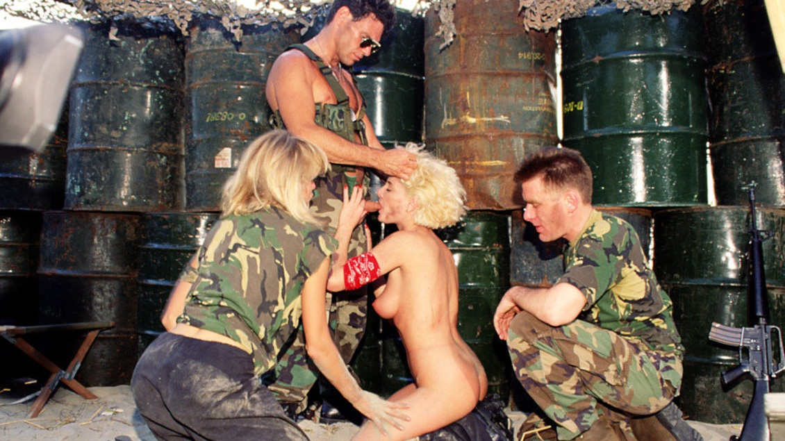Uniformed Soldiers Capture Rachel and Tammi Ann and Fuck Them Good