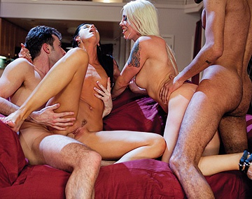 Private HD porn video: India Summer hat einen geilen Vierer mit Lorelei Lee