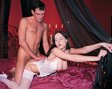 Private  porn video: Michelle Wild Wears White Lingerie While Getting Screwed by Hot Hunk