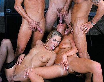 Private  porn video: Angel Takes on Several Guys in All of Her Holes at the Same Time