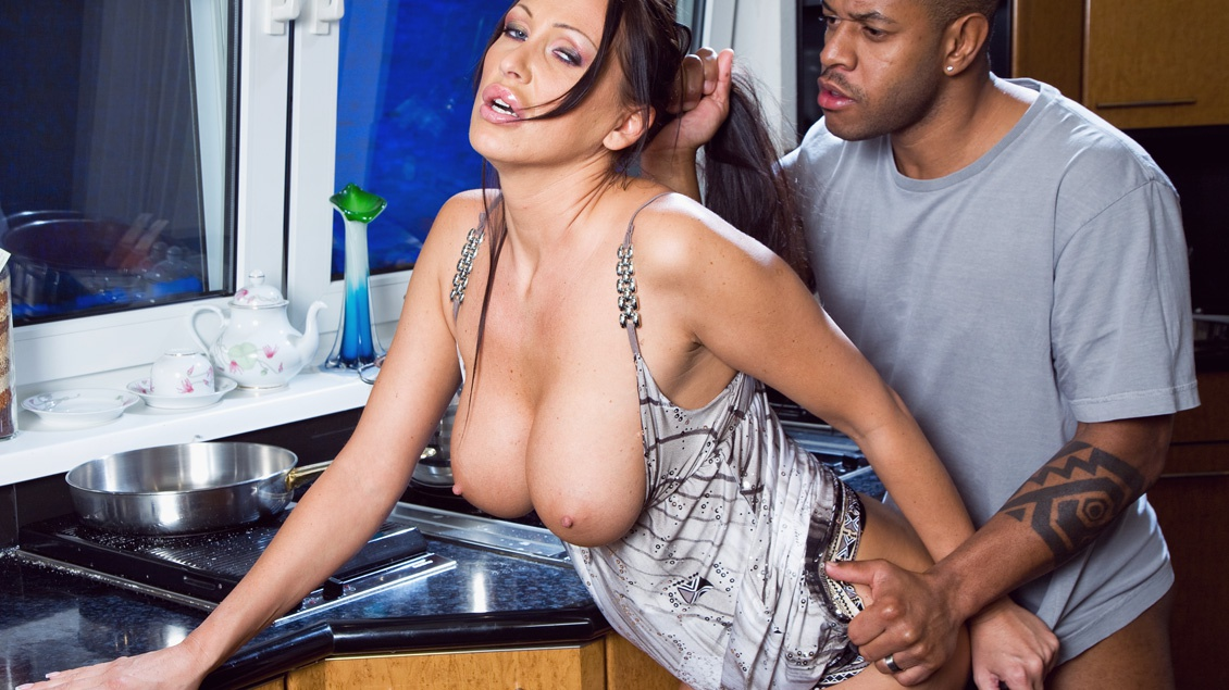 A Holiday Celebration Includes MILF Mandys First Big Black Cock