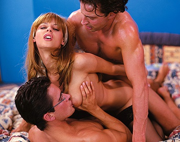 Private  porn video: Michelle Wild Is the Meat in a Dick Sandwich during This MMF 3 Way DP