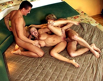 Private HD porn video: Mandy Dee Is with Two Guys and They Have an Anal Threesome