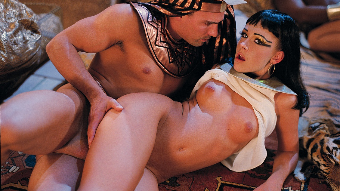 Sophie Angel Is an Egyptian Princess Who Gets Double Teamed