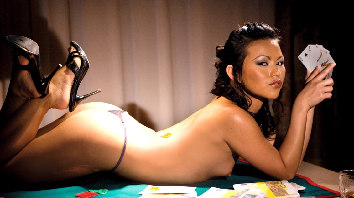 Lady Mai Offers up Her Own Poker Face for a Cum Load