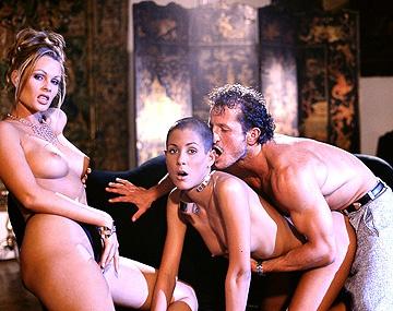 Private  porn video: Claudia, rapada y rasurada, se monta un trío con Nikky Andersson y acaba enculada