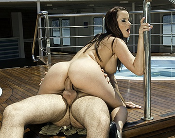 Private HD porn video: Cindy Dollar Bends over on the Deck of a Ship to Have Her Ass Fucked