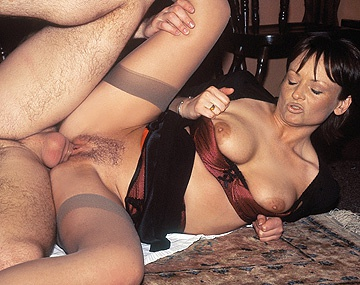 Private  porn video: Gina G Gives Blowjob and Gets DP from Chef and Waiter for Free Meal