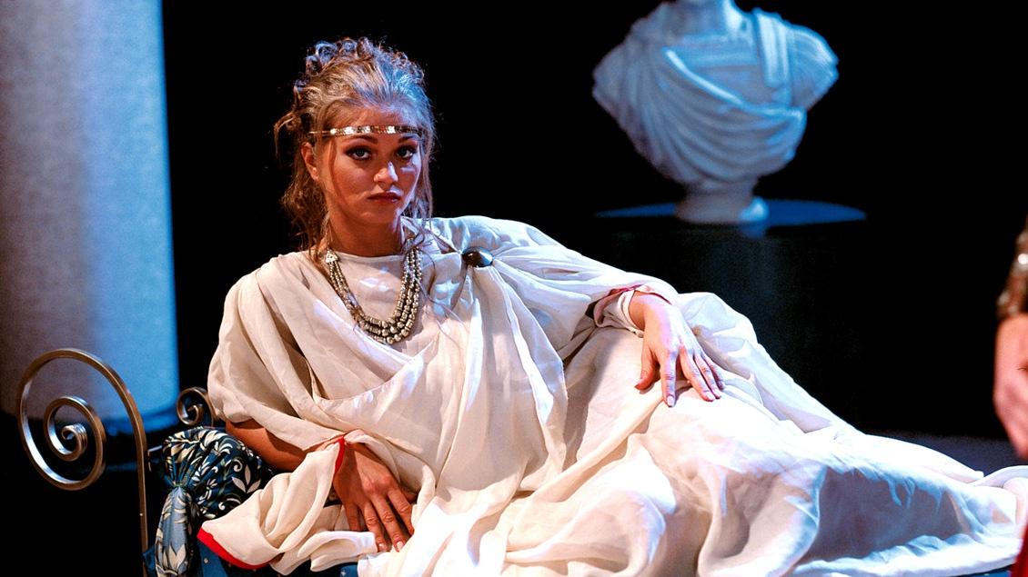 Rita Faltoyano geeft een fantastisch optreden in deze Cleopatra re-make