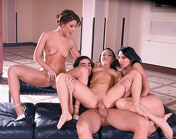Private  porn video: It Is Three against One Featuring Lara Stevens and Lora Craft