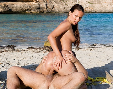 Private  porn video: Claudia Rossi Fucks and Sucks on Private Island
