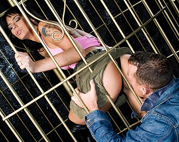 Private HD porn video: Sexy Simony Teases Two Guys While Dancing in a Cage