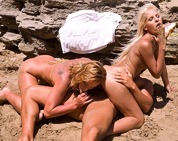Private  porn video: Boroka Balls and Kathy Campbel Lick Pussy While Getting Butt Fucked