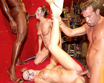 Private  porn video: Mandy and Mia Get Laid by a Couple of Horny Guys Eager for Pussy