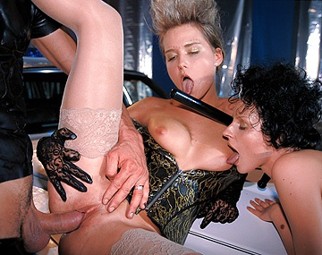 Private  porn video: Nikki and Michelle Love a Man in Uniform and a Cop Is No Exception