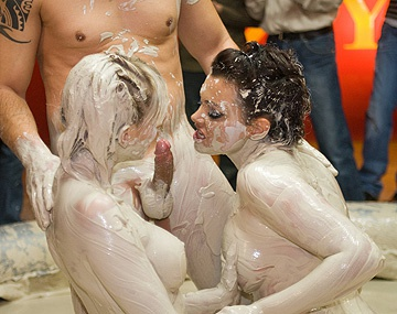 Private HD porn video: Stella and Terri Take Part in a Hardcore Mud Wrestling Event