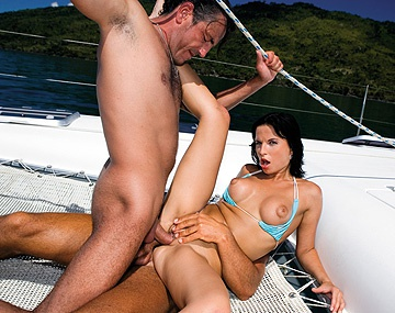 Private HD porn video: Renata Black Takes on Two Guys While on a Boat as She Pulls off a DP