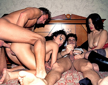 Private  porn video: Claudia and Kiki Are Paired up with Two Hot Guys in Vegas