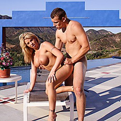 Private video: Miss Brooke Haven Gets Fucked Hard outside by the Pool