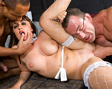 Private  porn video: Sabrina Has Hardcore Sex after Doing a Strip Tease as a Sexy Maid