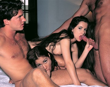 Private  porn video: Un cuarteto improvisado entre parejas