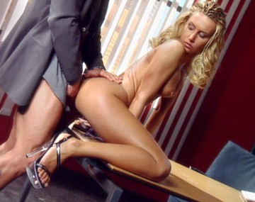 Private  porn video: Busty Blonde Sandra Is a Secretary Who Puts out Every Chance She Gets