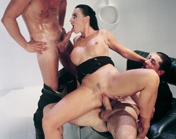 Private  porn video: While in the Mens Bathroom Laura Angel Gets Double Penetrated