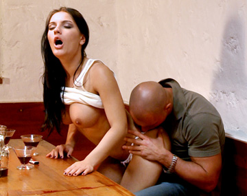 Private HD porn video: Honey Demon Allows Her Boyfriend to Suck Her Boobs and Kiss Her Ass