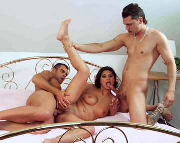 Private  porn video: Two Men Visit Tera Joy and Insert Themselves into Her at the Same Time