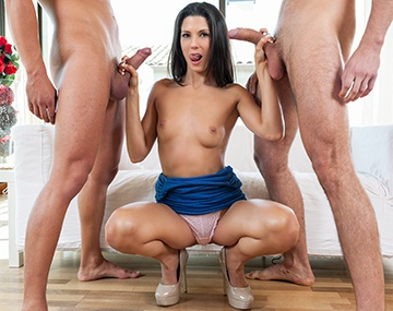 Private HD porn video: Alexa Tomas Traum vom Dreier