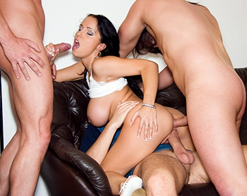 Private  porn video: Busty Laura Gets Gang Banged and Drilled Deep in Her Tight Ass