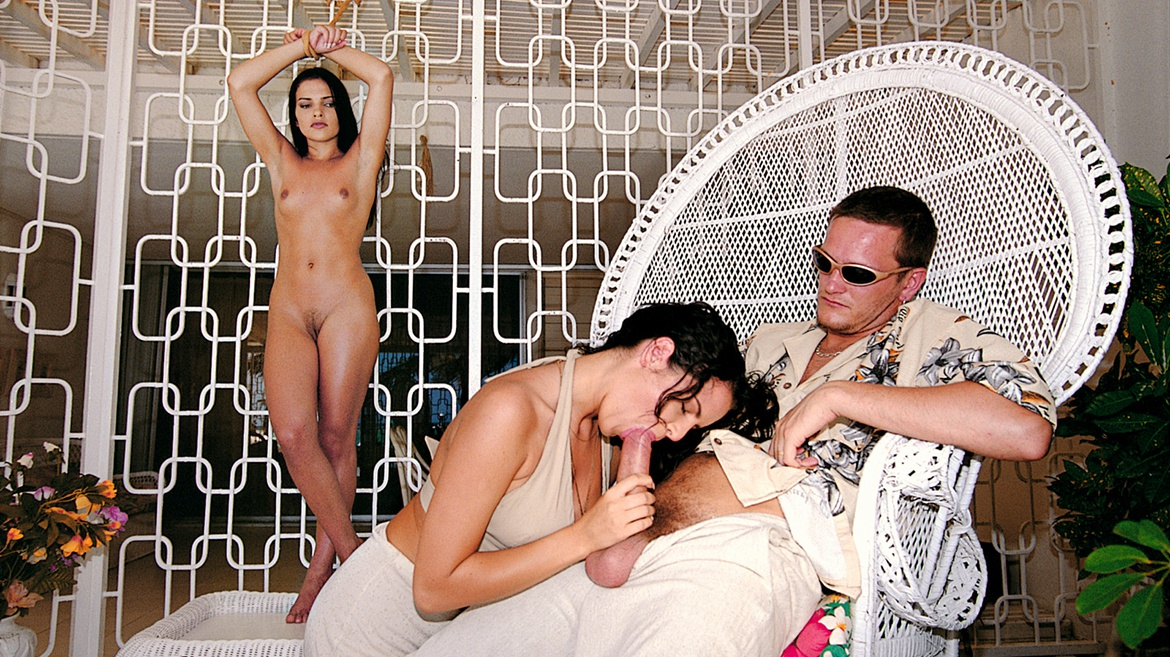 Sex Slave Inga Fucks Her Captor and His Wife Patricia in a Hot Trio