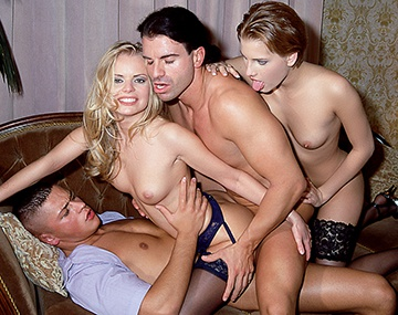 Private  porn video: Dora Venter and Petra Short Share Cock and Cum in Vintage 3Way
