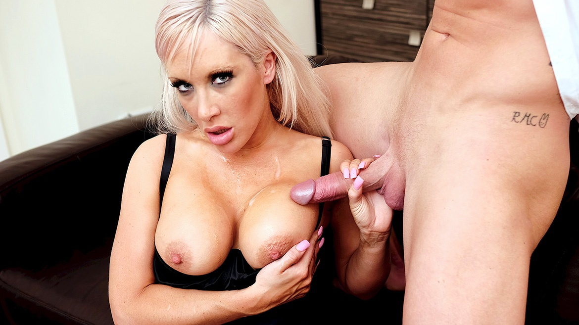Blonde Milf Lexi Ryder Loves to Fuck Her Husband's Hung Friends