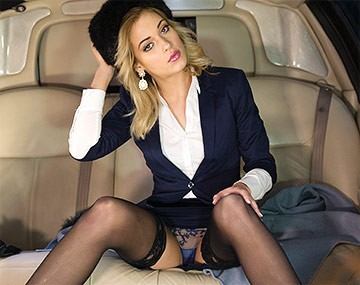 Private HD porn video: Classy New Cummer Ria Sunn Gets Destroyed in the Back of a Limo