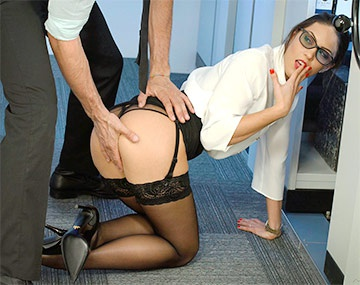 Private HD porn video: Teen Lawyer Carolina Abril Takes it From Behind in the Office